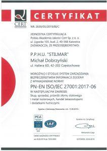 PN-EN ISO/IEC 27001:2017-06